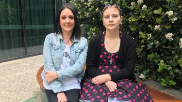 Amanda and Madison Williamson say the medicinal cannabis scheme has changed their lives.