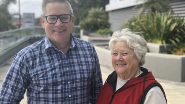At 70, Carol is growing a social media platform with her son
