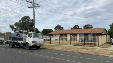 The Grey Street home where the woman was allegedly held captive in Darley.