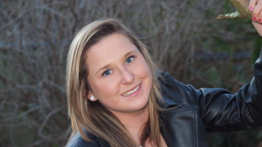 Taylor Budin, who has benefited from the Justice Advocacy Service and is a passionate supporter of it.