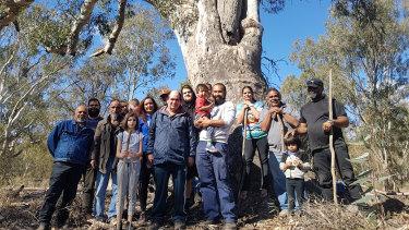 Tati Tati traditional owners in north-west Victoria.