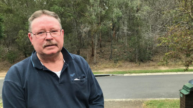 Twenty-five-year Chermside resident Justin Page says the community wants the bushland to remain.