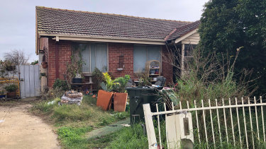 The Broadmeadows home Jaymes Todd lived in with his mother, father and two brothers. Picture taken June 2018.