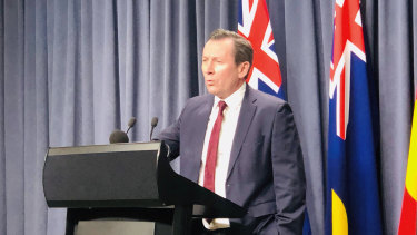 WA Premier Mark McGowan refused to answer questions about whether he had discussed Beach's exemption with Kerry or Ryan Stokes before the gas export ban was announced.