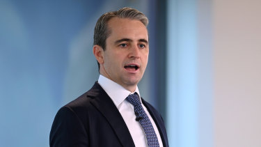 CBA chief executive Matt Comyn said the bank would be watching for any sharp rebound in lending to property investors.
