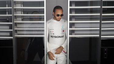 Lewis Hamilton says Formula One will have to act if there is a crash.
