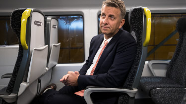 Transport Minister Andrew Constance has sought to allay fears about the staffing of new intercity trains.