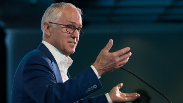 Malcolm Turnbull is not about to leave centre stage.