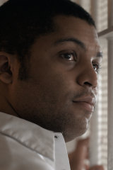 O'Shea Jackson jnr plays Anthony Ray Hinton in Just Mercy.