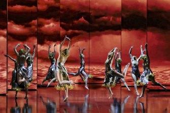 Opera Australia's spectacular production of Aida.