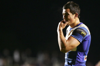 Sonny Bill Williams left the Bulldogs in 2008.