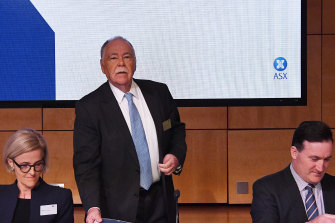 ASX Limited Chairman Rick Holliday-Smith.