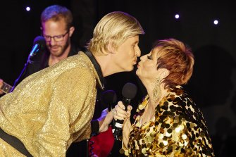 Bob Downe and Willsy in Adelaide Tonight.