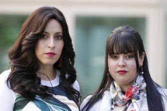 Nicole Meyer and Dassi Erlich, alleged victims of Malka Leifer.