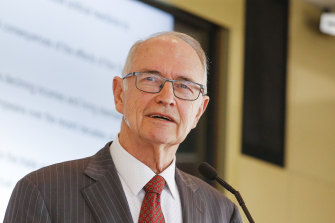 Professor Ross Garnaut advised Labor on climate policy.