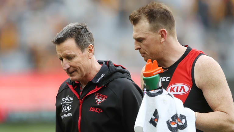Brendon Goddard: time to let go, or is it?