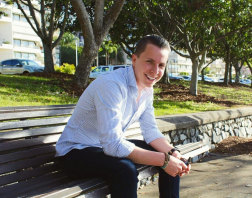 Mitch Hills started his first business aged 17.
