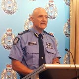 Assistant Commissioner Paul Steel provides media with the tragic news.