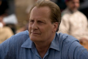 Perfect to play James Comey: Jeff Daniels as a counter-terrorism chief in The Looming Tower.