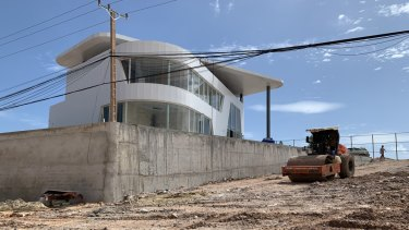 China-driven development and construction in Sihanoukville is rampant.