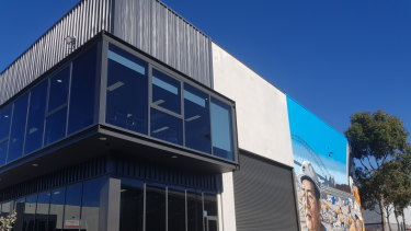 Sydney businessman Sam Harb has spread his wings with an industrial development at 61-65 Roberts Road, Greenacre