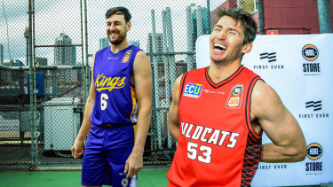 Will we see the best of Andrew Bogut (left) and Damian Martin?