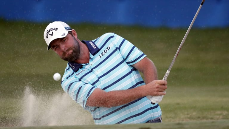 Australia's Marc Leishman is tied for fifth.