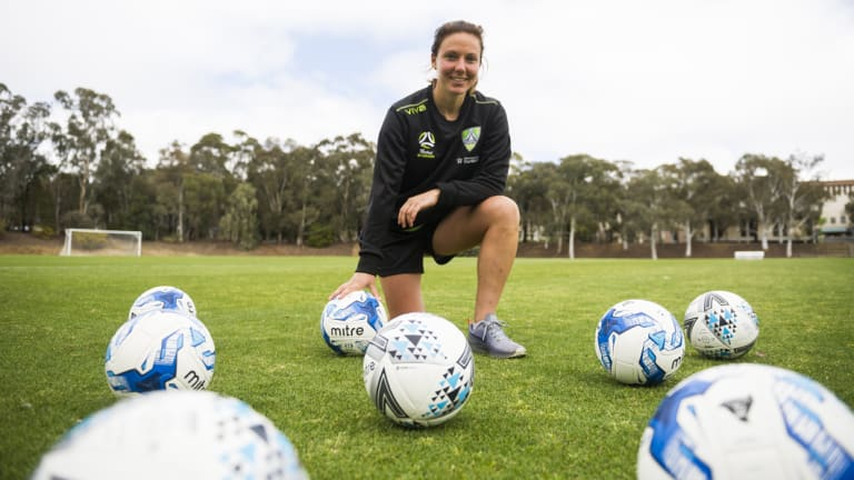 Scottish import Rachel Corsie has been named Canberra United's captain.
