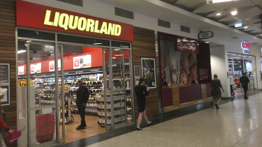 Tenants have complained the Liquorland inside Raine Square has led to anti-social behaviour at the precinct.