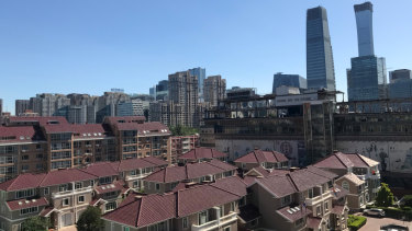 Beijing's air quality index was 81 at 7am on Tuesday, and reached 232 by 9am - well below the levels reached in parts of Sydney.