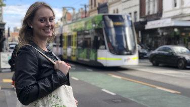 Jess Ivers leads a Melbourne Vegan Tour.