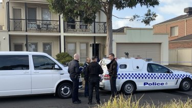 Masked intruders stormed this Cairnlea home early on Friday morning.