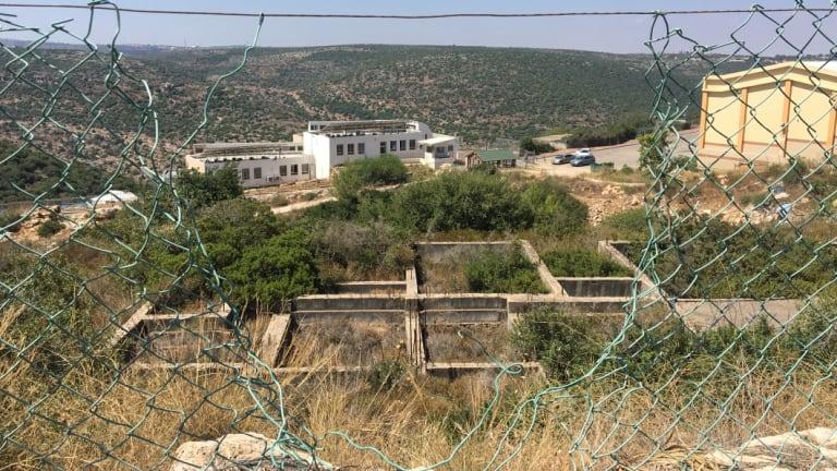 A school in the ultra-Orthodox Israeli settlement of Emmanuel.