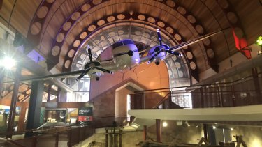 The Royal Flying Doctor Service Gallery at the Australian Stockman's Hall of Fame.