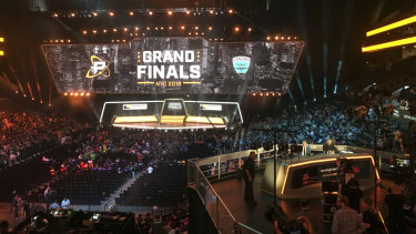 Professional video game tournaments around the world take place in stadiums in front of thousands of fans.
