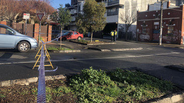A brawl broke out in an area near Smith Street in the early hours of Sunday morning.