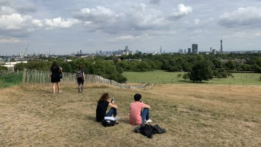 Primrose Hill in North London is a constant feature in literature.