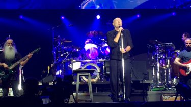 Phil Collins was on his feet for In the Air Tonight.