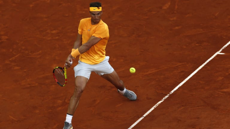As always, Rafael Nadal is invincible on clay.