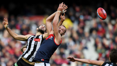 Brodie Grundy and Max Gawn are at the peak of their powers.