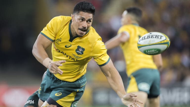 Pete Samu says he's almost ready to make his Wallabies return.