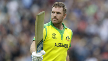 Back on track: Aussie skipper Aaron Finch.