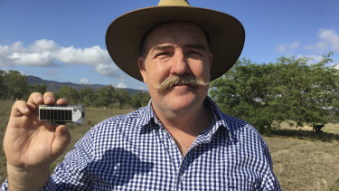 David Smith, developer of the Ceres Tag, believes the tags are the future of the livestock industry data for the next generation of graziers.