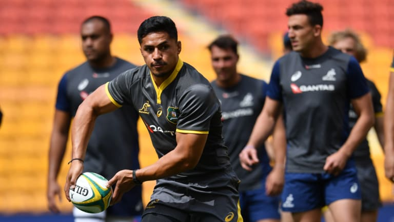 Pete Samu is hoping to rejoin the Wallabies for the end of year Tests.
