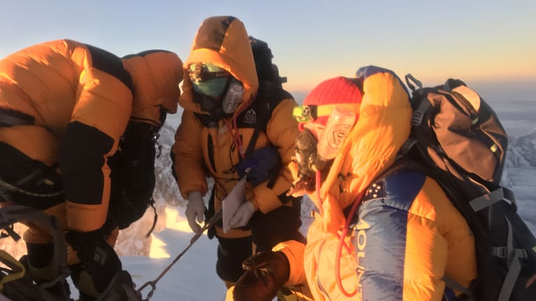 Alyssa Azar and her team successfully reached the summit of Mount Everest on May 19, 2018, almost two years to the day of her first summit.