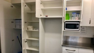 Earle Haven's cupboards were left bare.
