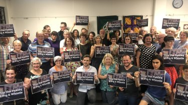 Residents are at their wits' end and frustrated they have no way to appeal the decision to install 45 pokies inside Indooroopilly Shopping Centre.