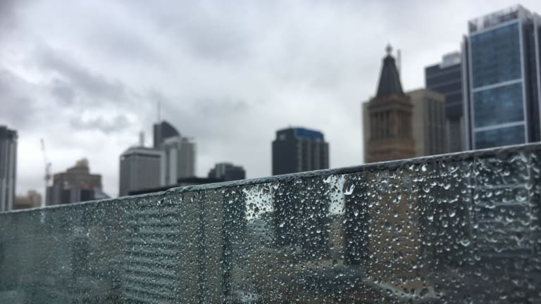 It has been a wet few days in Brisbane.
