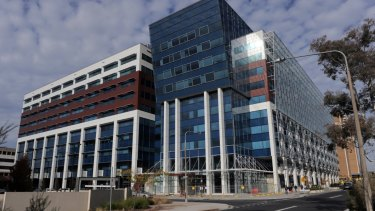 The Department of Health is staying in the Sirius building, in Woden, for another 16 years.