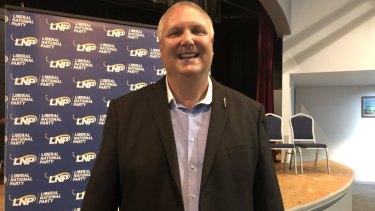 LNP candidate for LongmanTrevor Ruthenberg.